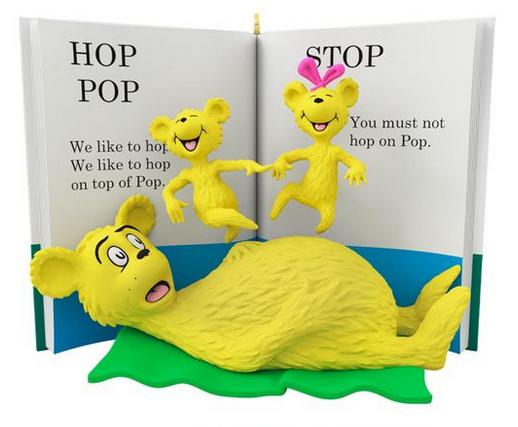Dr. Seuss™ Hop on Pop Book Ornament
