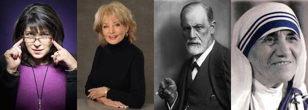 The Myers-Briggs Types of 101 Famous Authors