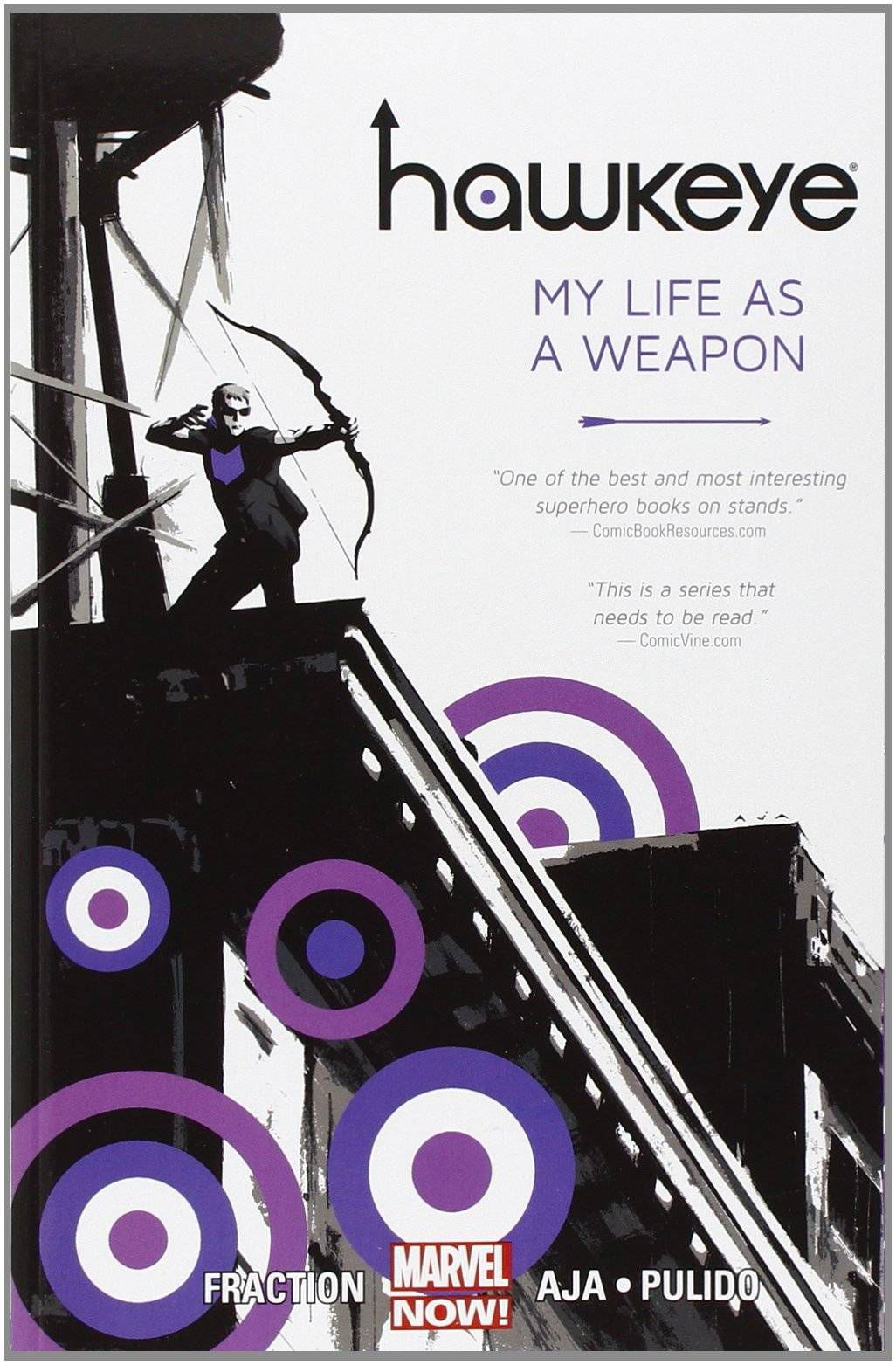 Cover of HawkEye My Life a Weapon