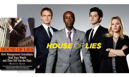 House of Lies Show and Adapted Book