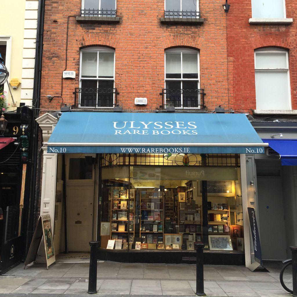 ulysses rare books dublin