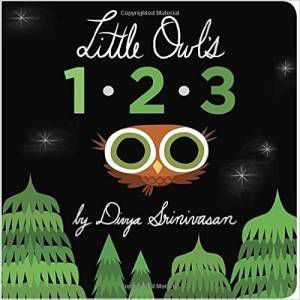 Little Owl's 1-2-3 by Divya Srinivasan