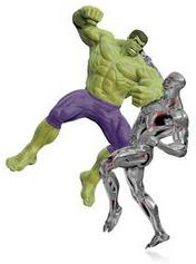 MARVEL Avengers Age of Ultron The Hulk vs. Ultron Ornament
