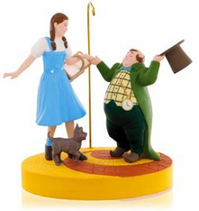THE WIZARD OF OZ™ Ding-Dong The Witch Is Dead! DOROTHY™, TOTO™ and MUNCHKINS™ Ornament