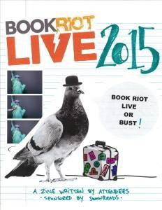 cover of Book Riot Live 2015 zine