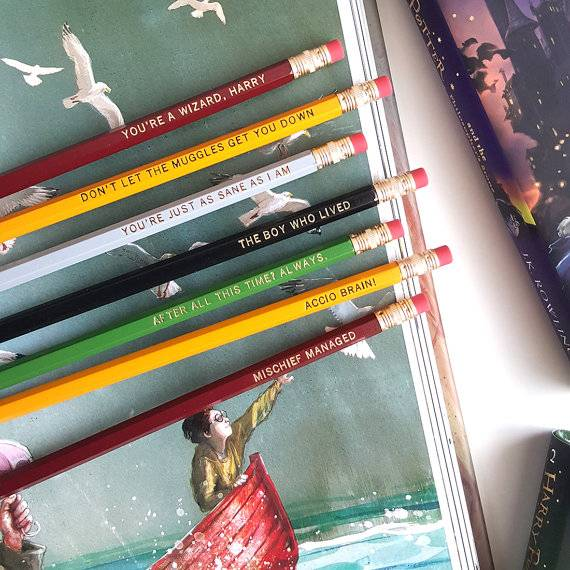 harry potter pencils