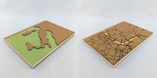 Custom Map Journal