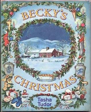 Christmas Books | Becky's Christmas by Tasha Tudor