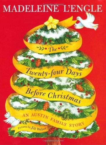 Christmas Books | The Twenty-four Days Before Christmas by Madeleine L'Engle
