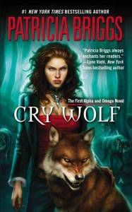 Shifter romance book cover image of Cry Wolf by Patricia Briggs