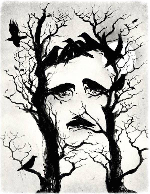10 Striking Portraits of Edgar Allan Poe | Carlo Giambarresi