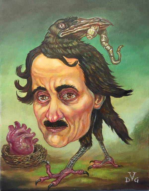 10 Striking Portraits of Edgar Allan Poe | David Gough