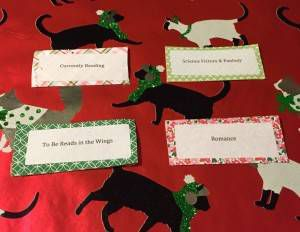 Gift Idea: Bookshelf Labels