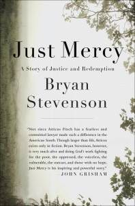 cover of Just Mercy by Bryan Stevenson