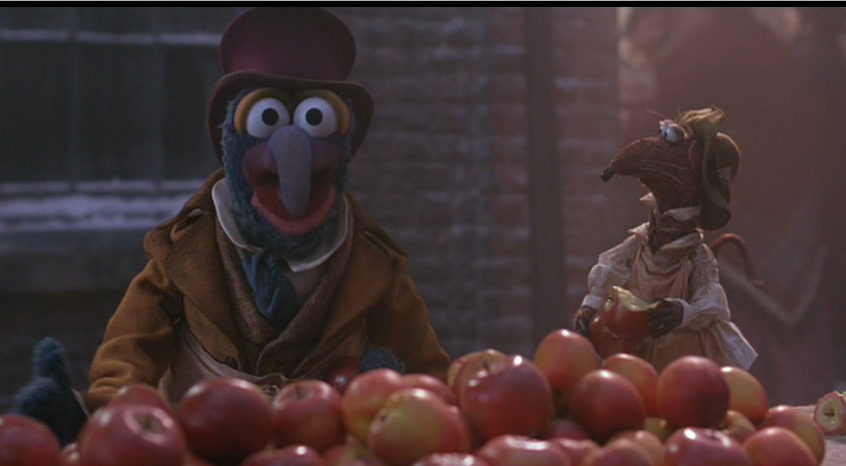 The Muppet Christmas Carol Gonzo Dickens
