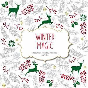 Winter Magic Coloring Book | 5 Festive Books for Christmas Enthusiasts