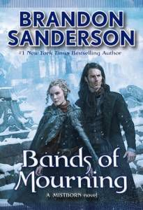 cover of bands of mourning brandon sanderson