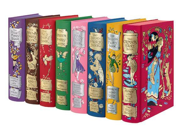 Andrew Lang's Fairy Books | 10 Folio Society Books to Give to Your Children This Christmas