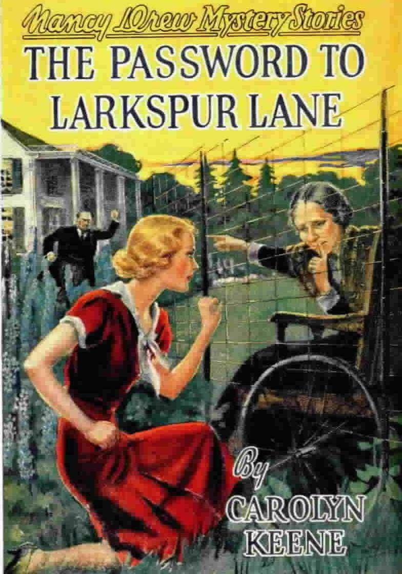 password to larkspur lane - nancy drew 10 - by carolyn keene