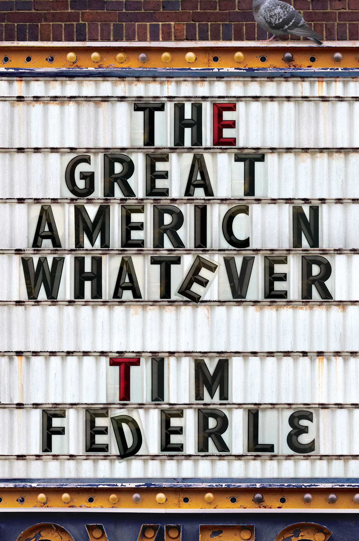 cover of the great american whatever by tim federle