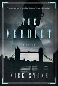cover of the verdict by nick stone