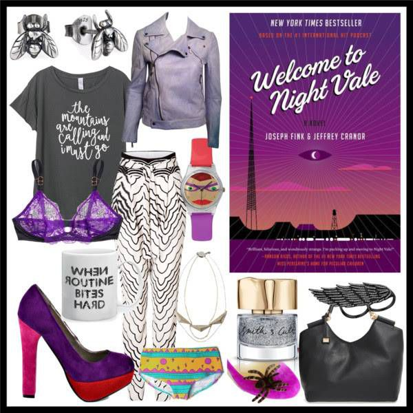welcome to night vale book style