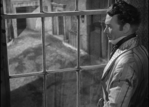 Great Expectations 1946 - Pip looks out window