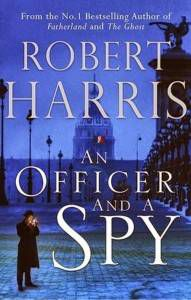 cover of an officer and a spy by robert harris