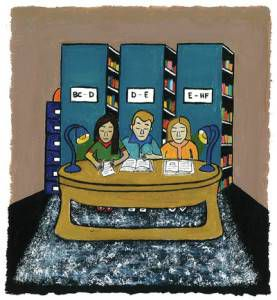 Illustration from Diverse Librarian Paula Pereira's ESL book