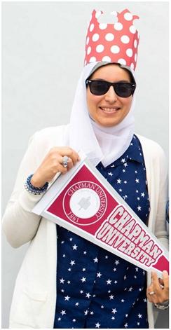 Diverse Librarian Essraa Nawar of Chapman University