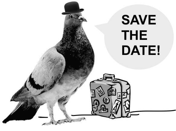 Reginald wants YOU to save the date