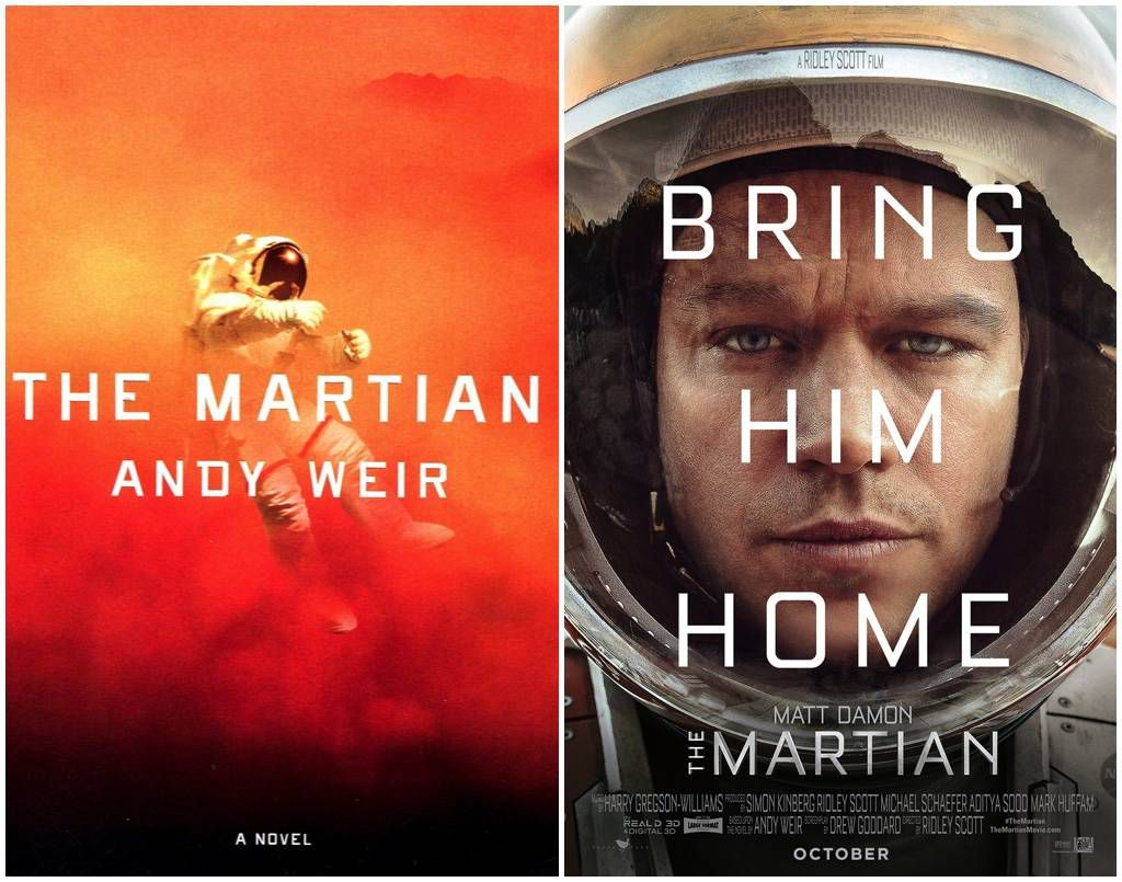the martian merged
