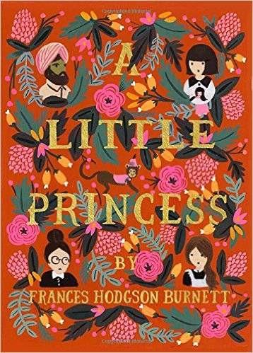 A Little Princess by Frances Hodgson Burnett cover