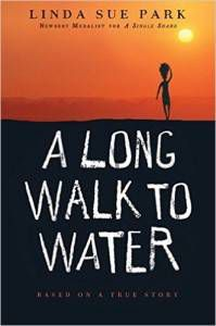 A Long Walk to Water by Linda Sue Park cover