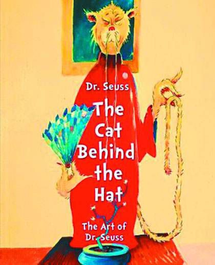 Dr Seuss: the Cat Behind the Hat by Caroline M. Smith