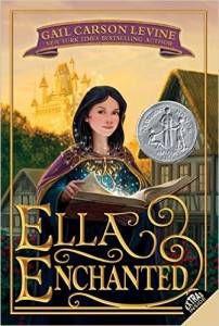 Ella Enchanted by Gail Carson Levine cover