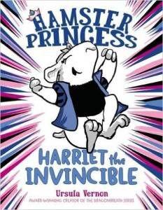 Hamster Princess by Ursula Vernon cover