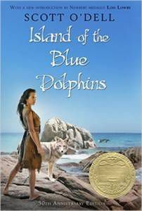 Island of the Blue Dolphins by Scott O'Dell cover