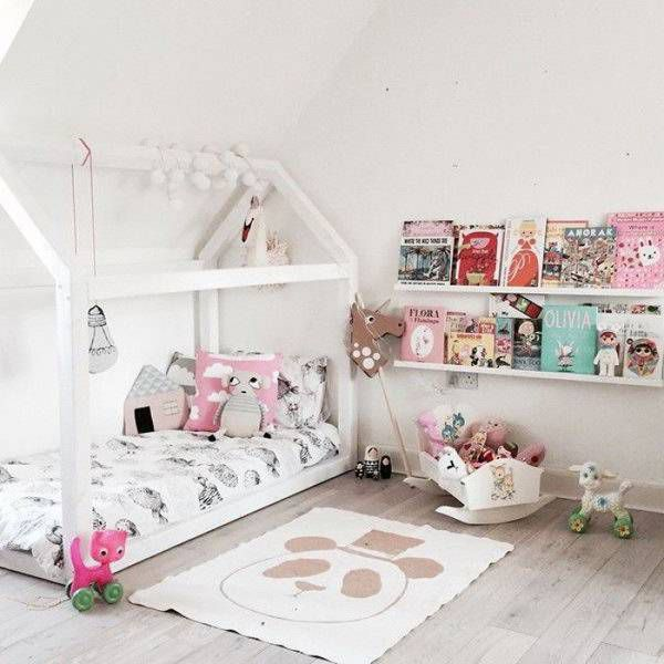 Kids Reading Nook Bedframe