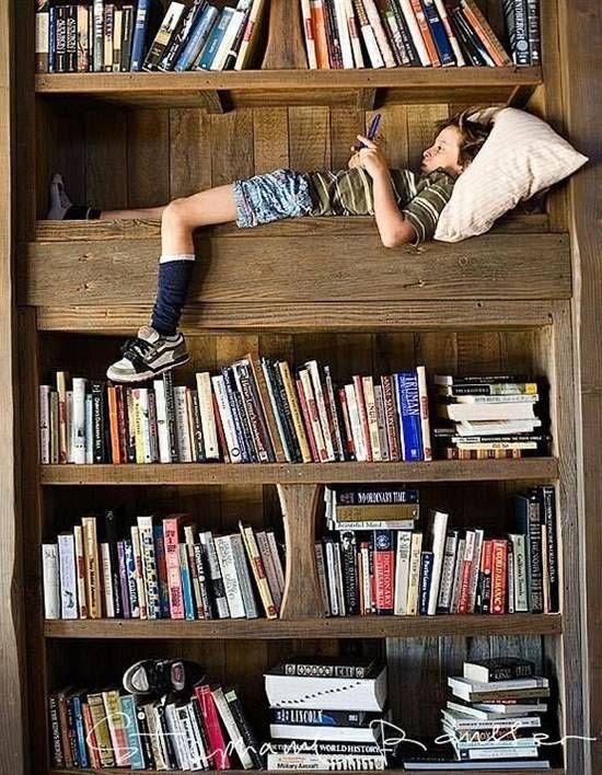 Kids Reading Nook Bookcase