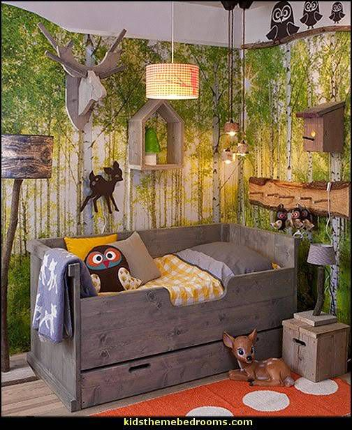 Kids Reading Nook Forest