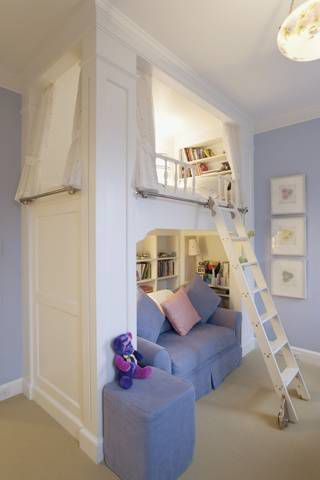 Kids Reading Nook Loft