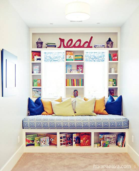 15 Awesome Kids Reading Nook Ideas And Inspiration Book Riot