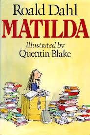 Matilda by Roald Dahl cover