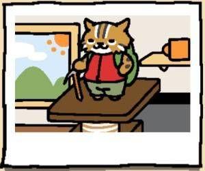 Neko Atsume Bob the Cat