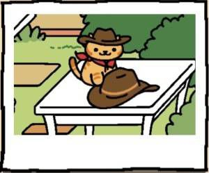 Neko Atsume Cat Billy the Kitten