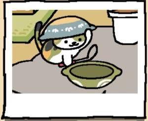 Neko Atsume Cat Chairman Meow