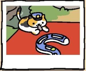 Neko Atsume Cat Conductor Whiskers