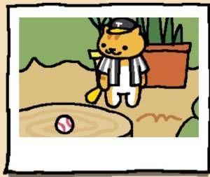 Neko Atsume Cat Joe DiMeowgio