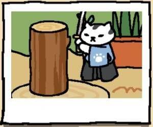 Neko Atsume Cat Mr. Meowgi